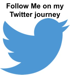 Follow me on my Twitter Journey